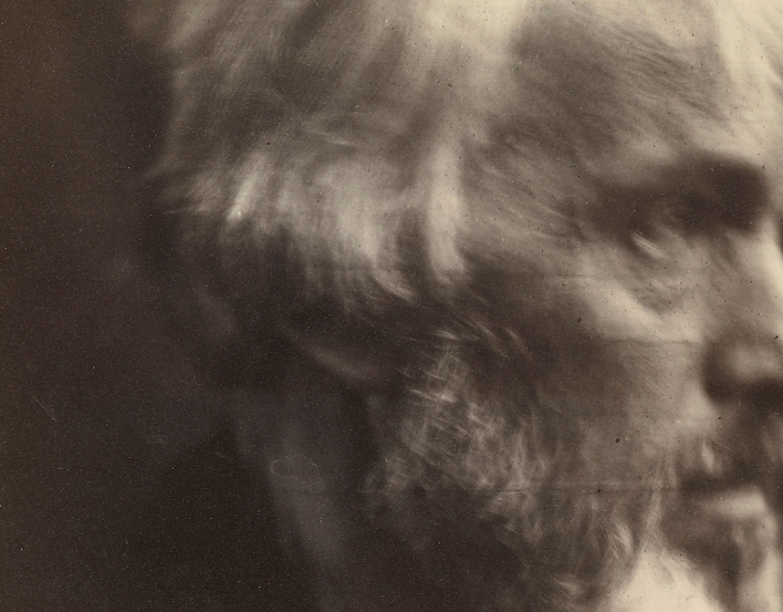 Thomas Carlyle by Julia Margaret Cameron