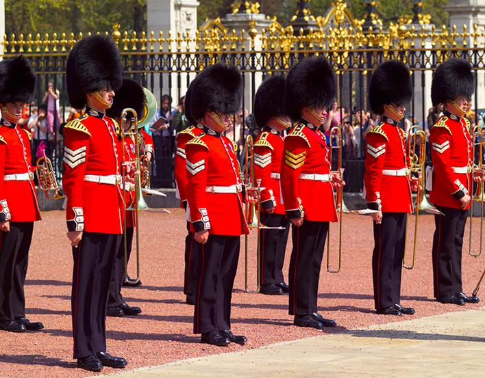 Guard Change at Buckingham Palace