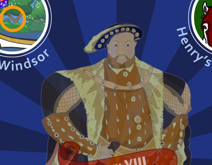 King of the Castle: children's activity banner