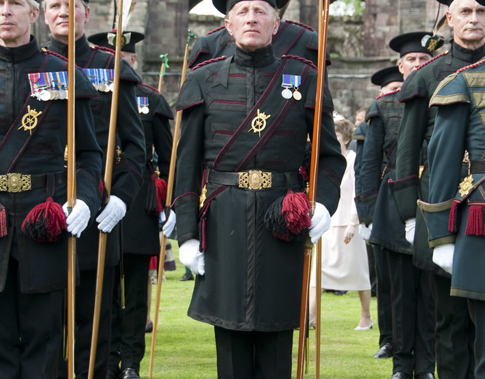 Royal Company of Archers at Palace of Holyroodhouse