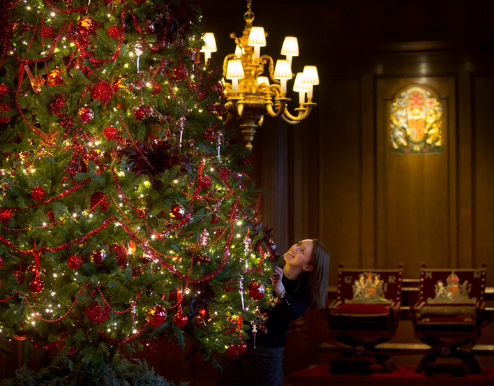Christmas at the Palace of Holyroodhouse