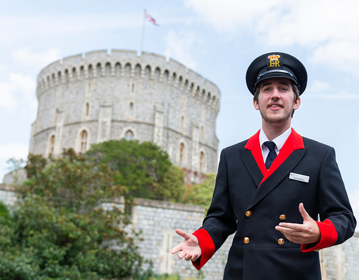 Precinct tours at Windsor Castle