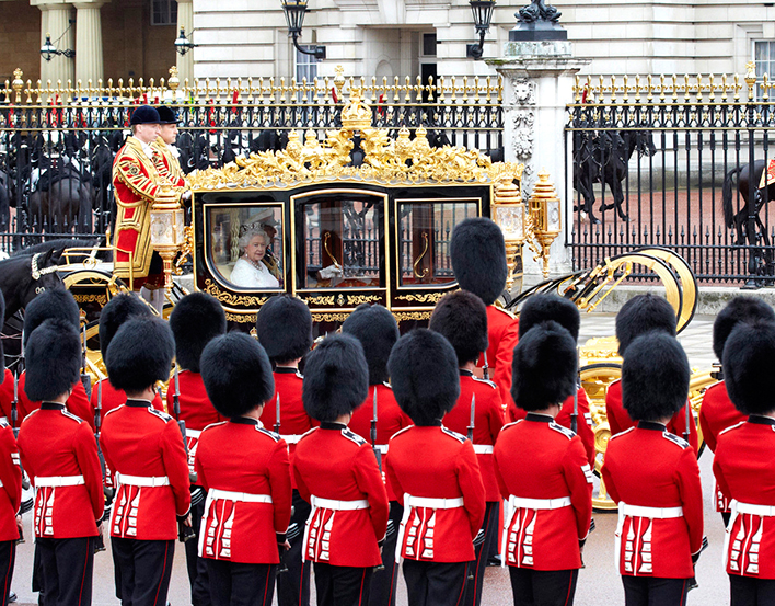 The Royal Mews at Buckingham Palace