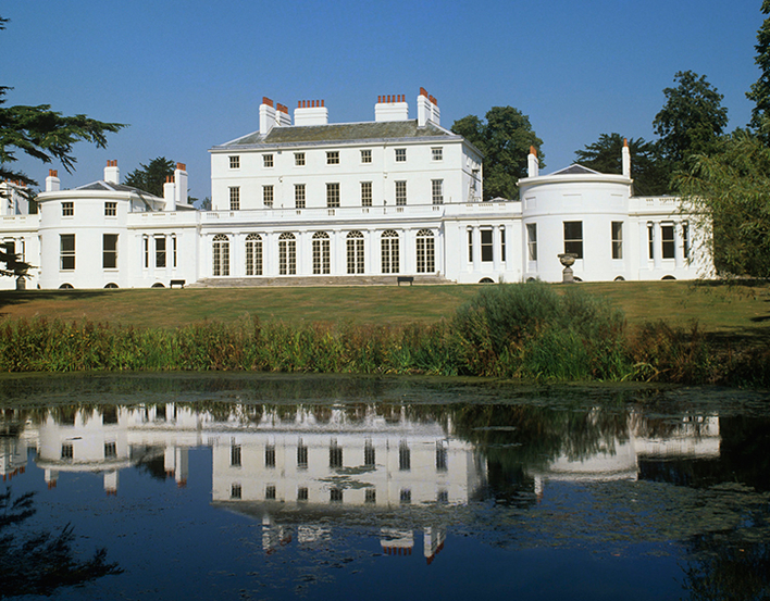 Frogmore House viewed from the garden
