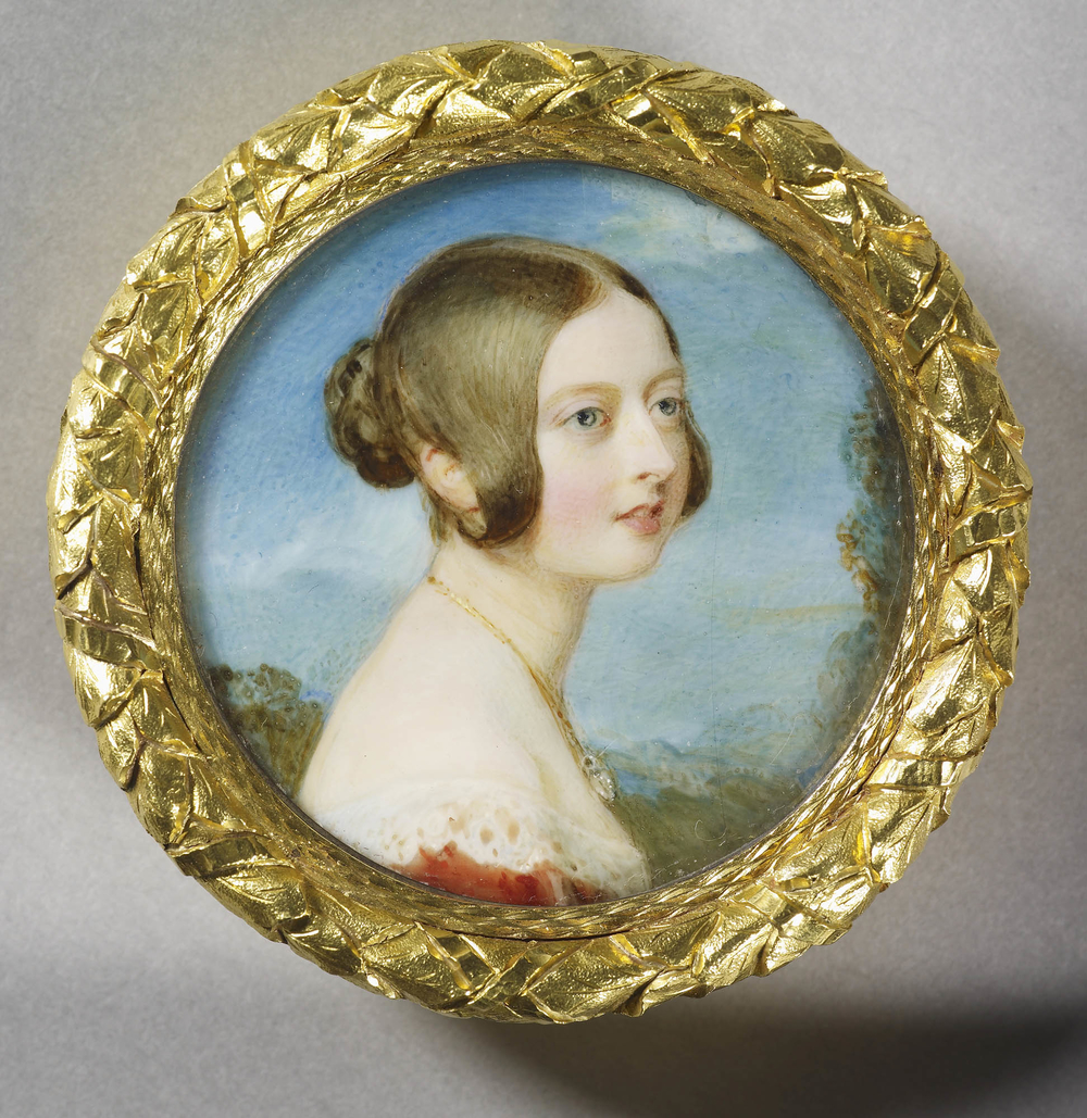 Painting of a young Queen Victoria by Sir William Ross