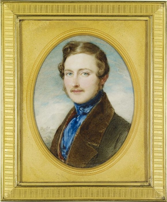 Painting of a young Prince Albery by Sir William Ross