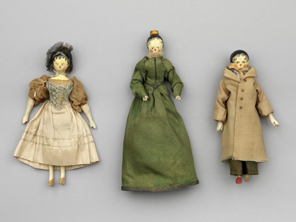 3 dolls belonging to Queen Victoria